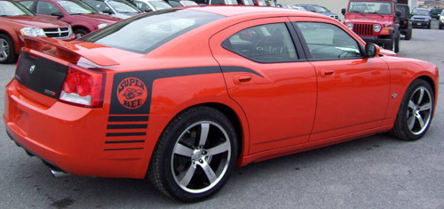 2009 Charger SRT Super Bee.