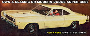 Own A Dodge Super Bee?